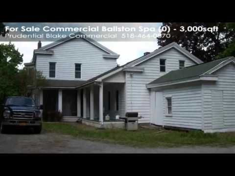 Greek revival type bldg in the heart of Ballston Spa, ready for new owner(s) to take possession. Period details 3 fireplaces-1 working, high ceilings, oversized windows, pier mirror, etc. 1st level boast large ornate rm that could double as a conference rm/bull pen area. 2 smaller offices/conference rm across hall. Full kitchen, plenty of storage. 2nd level opened up as large exec office w/ornate bath. Potential to revert back to single family. Phone system, plenty of parking, roof approx…