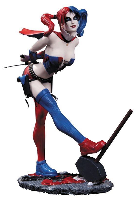 Kirin Hobby : DC Comics Cover Girls: Harley Quinn Statue by DC Direct 761941308968