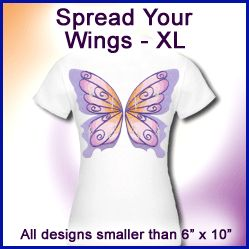 A Spread Your Wings Design Pack - XL