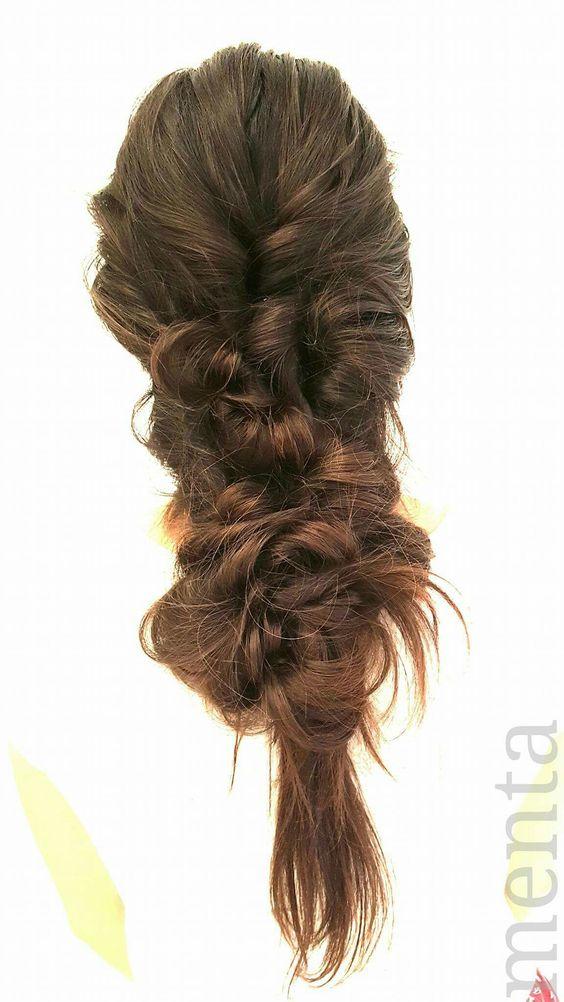 La trenza más desenfadada y favorecedora para un look juvenil y casual 😀📍🔝🔝 #behinthechair  #beyondtheponytail @beyondtheponytLuxy HairHair