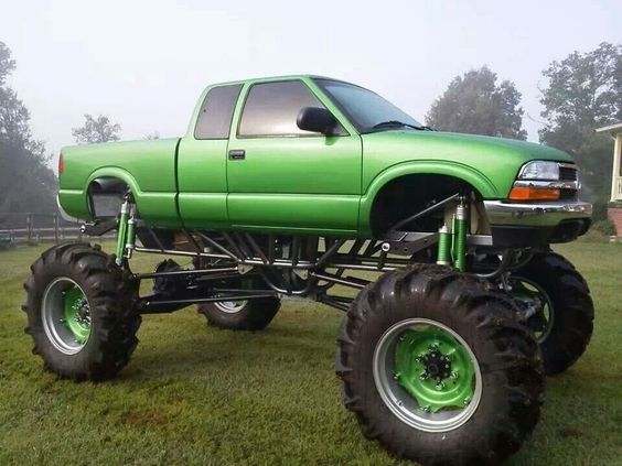 Chevy S10 Mega Mud Truck