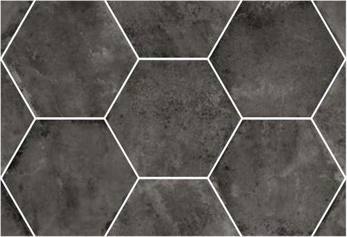 Carrelage Hexagonal Noir Antiderapant 29 2x25 4cm Urban Hexagon Dark Carrelage Hexagonal Carrelage Carrelage Beige