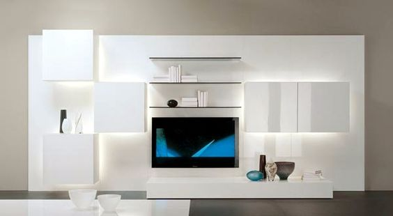 TV furniture for living room in a trendy look - 20 design ideas ...