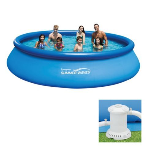 Summer Waves Pool 15 Ft X 36 In Canadian Tire Summer Waves Pool Wave Pool