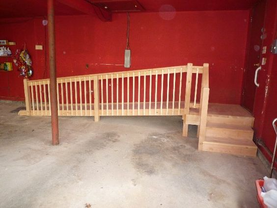 Wheelchair ramp wheelchairs and garage on pinterest for Wheelchair home