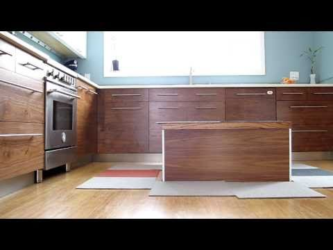 Retractable kitchen island controlled by iPhone by Tim Thaler via hackaday #Kitchen_Island #iPhone #Time_Thaler #hackaday