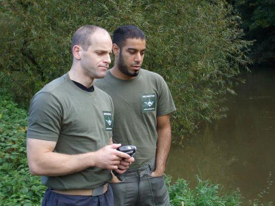 Military Surviving Trek Maidstone, Kent, UK. Problem solving.