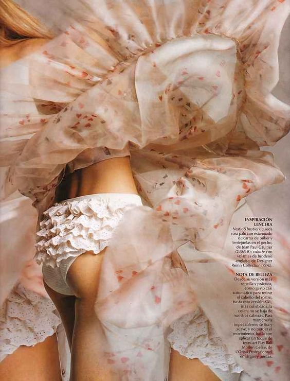Vogue Espana. Kim Noorda. Just love this shot