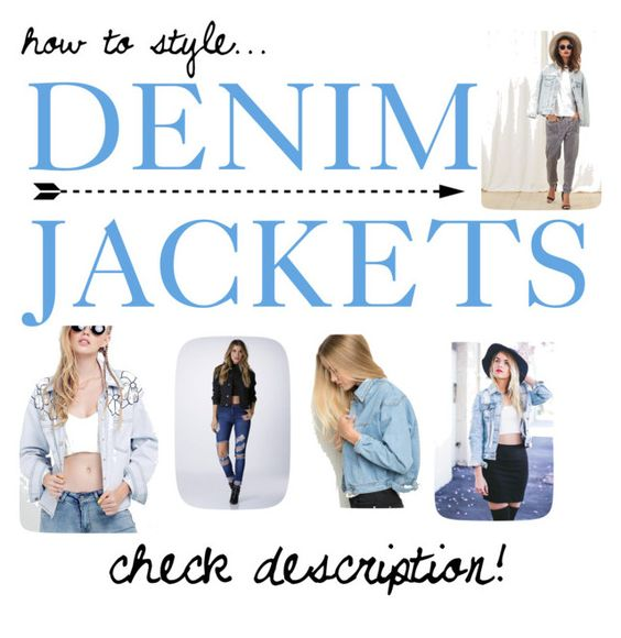 """""""HOW TO STYLE: DENIM JACKETS!"""" by rach-kaye-style ❤ liked on Polyvore featuring The Fifth Label, modern and FALLingwithrach"""