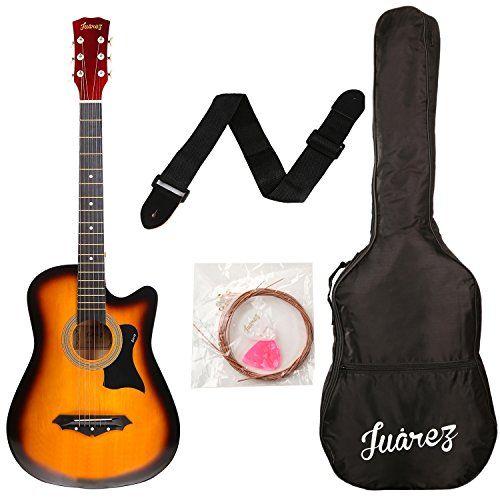 Juarez Acoustic Guitar 38 Inch Cutaway Jrz38c With Bag Https Www Amazon In Dp B01fyytdtu Re Acoustic Guitar Kits Acoustic Guitar Prices Acoustic Guitar