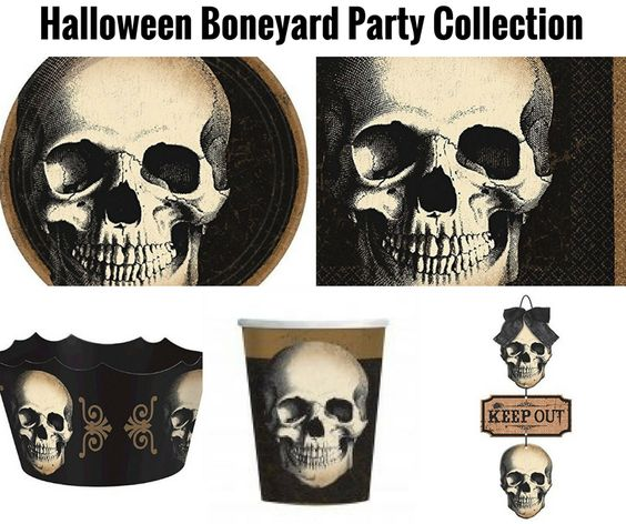 Halloween Boneyard Collection