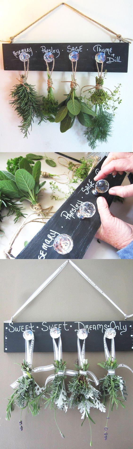 Easy DIY Herb Drying Rack | The Home Depot Community