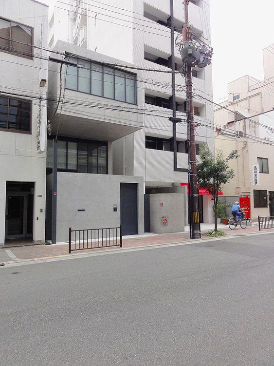 house in utsubo park, ōsaka 靱公園 大阪