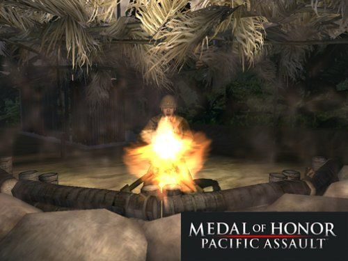 Medal of Honor Pacific Assault Video game Images