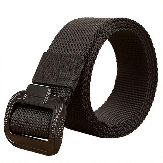 135CM Tactical Belt Cobra Buckle Nylon Belt Mens Military Belt Automatic Metal Buckle Training Belt
