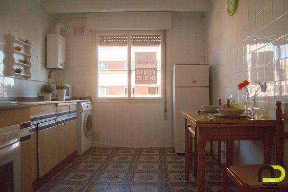 Vista general de la cocina después del Home Staging