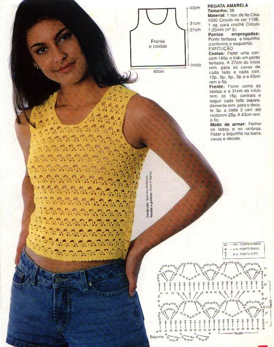 Croche wonder of art: blouse
