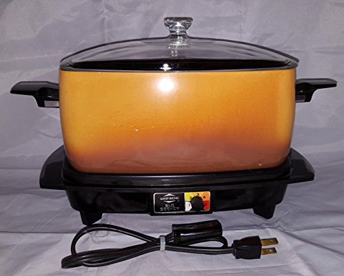 Vintage West Bend Slow Cooker Plus 5275 Crock Pot Type 6 Quart Want To Know More Click On Th Slow Cooker Pressure Cooker West Bend Slow Cooker Slow Cookers