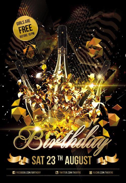 Birthday Party Flyer Templates Free Flyer Maker Flyer Design