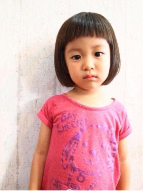小さい女の子の髪型 子供髪型 女の子 子供のヘアカット キッズ ヘアスタイル 女の子