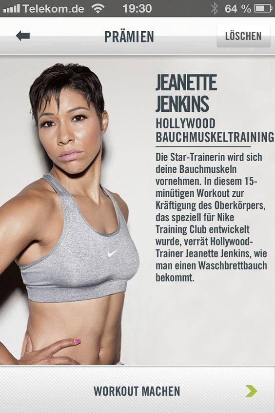 Jeanette Jenkins Ab Blaster NTC workout