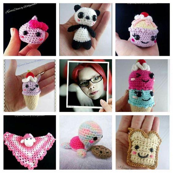 kreativchaos_by_wollgestoeber:: Mal ein paar meiner Werke auf einen Blick  #croche #crocheting #crochet #häkeln #häkelnisttoll #häkelnmachtglücklich #amigurumist #amigurumi #amigurumis #sweet #kawaiicrochet #kreativchaosbywollgestöber #artvsartist
