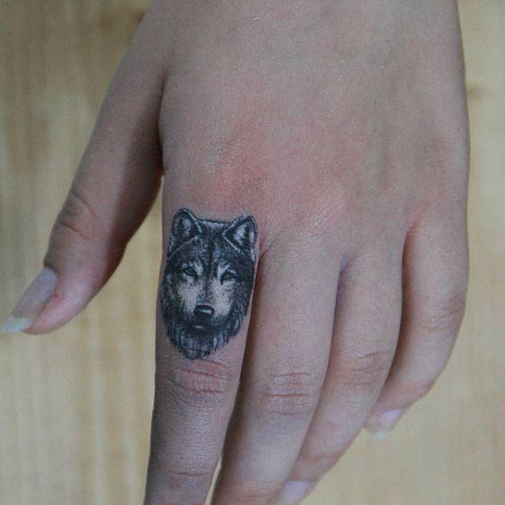finger wolf tattoo by Melek Taştekin 😎 #tattoo #tattoos #tattooed #tattooing #tattooist #tattooer #tattooart #tattooartist #fingertattoo #wolftattoo #wolf #ink #inked #tatu #tats #melektastekin #instatattoo #realisticwolf #dovme ##bilkentuniversity #hacettepeuniversity #instagood #minimaltattoo #handtattoo #art #artwork #intenzeink #intenze
