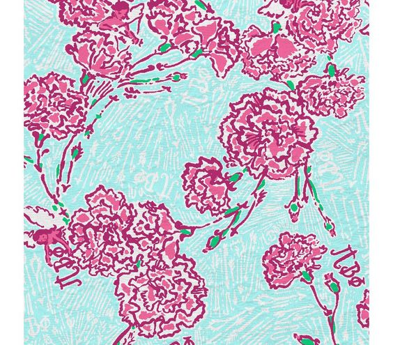 Lilly Pulitzer Skye Blue Pi Beta Phi Patterns We Love