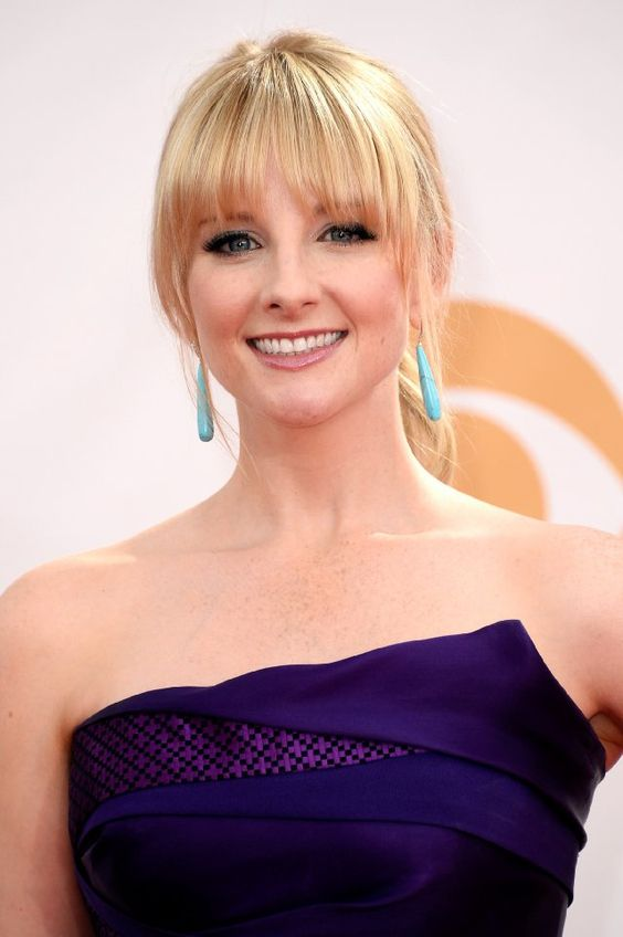 Melissa Rauch Bangs And The Big Bang Theory On Pinterest