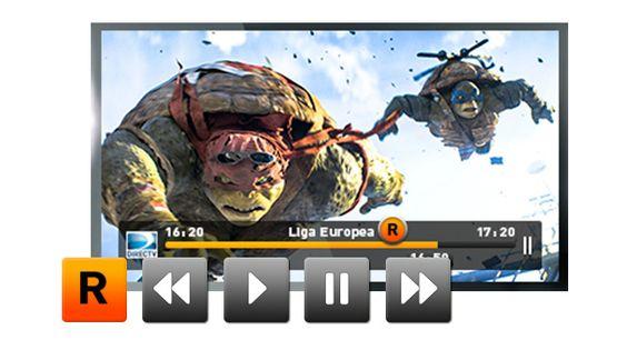 GRABA, PAUSA y RETROCEDE Con tu equipo DIRECTV HD DVR o DIRECTV Plus DVR la TV en vivo las veces que quieras.