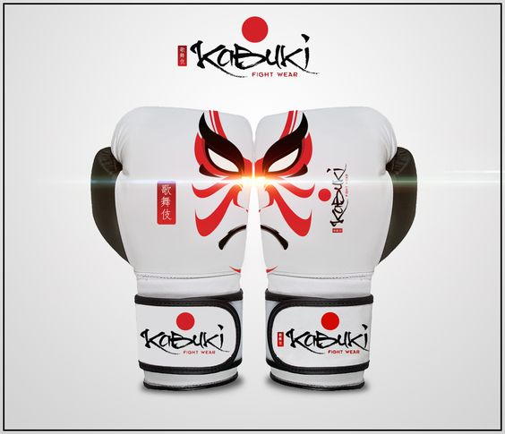Kabuki Fight Wear Gloves design