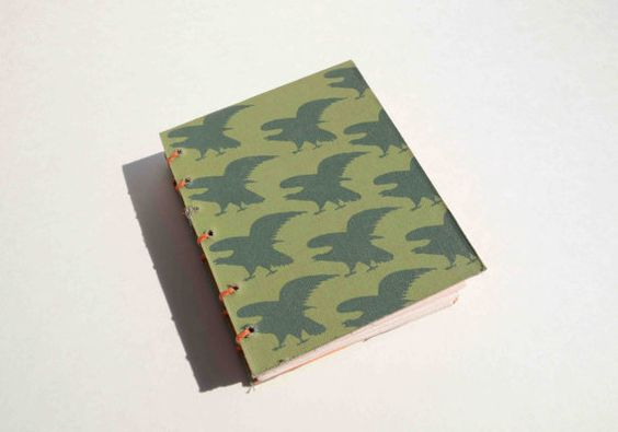 Awesome gift! Small handbound journal on Etsy made from recyled materials for $15 http://www.etsy.com/listing/156401069/sage-green-eagles-small-blank-book