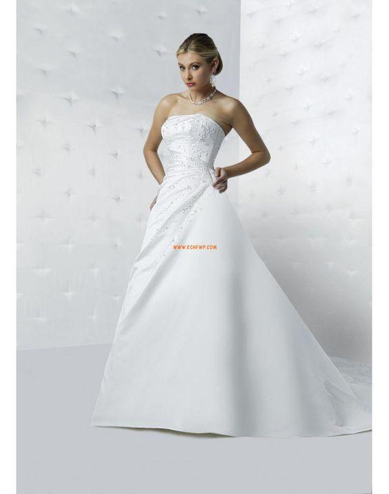 Kirche Vom Vintage-Stil inspiriert Schnürung Brautkleider 2014