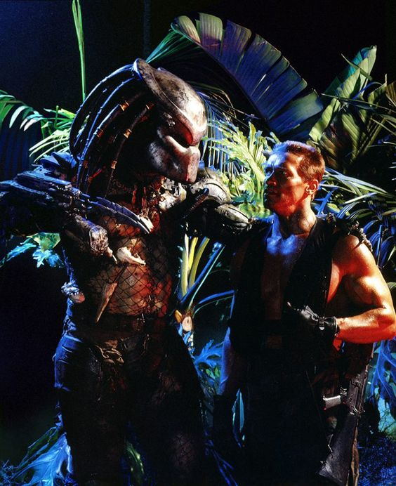 Arnie and Predy | Alien & Predator | Pinterest
