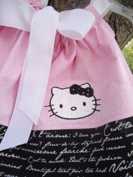 Hello Kitty Baby Girl Boutique  Dress Newborn 3 by ThisChild, $21.99