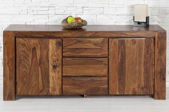 Buffet bois design contemporain moderne 3 images mobilier pinterest des - Buffet contemporain design ...