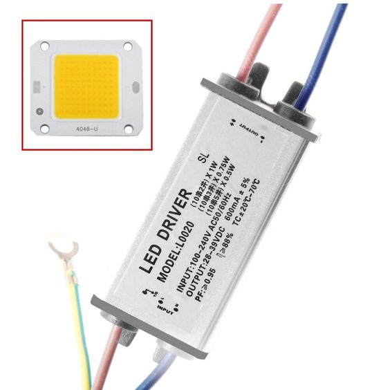 Led Integrated Chips 30w With Led Driver Light High Power Bulb Source Cob For Diy Flood Light Super Deal Inventory Clearance Flood Lights Led Bulb