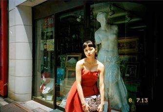 赤色ドレスの二階堂ふみ