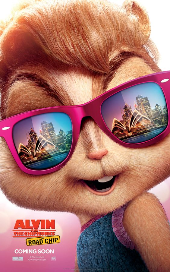 Brittany's got eyes for bright lights and beaches in Sydney | Alvin and the Chipmunks: The Road Chip: