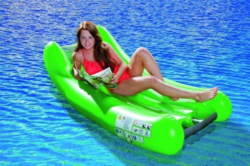 Pool Lounger Schaukel grün 180 x 86 cm Luftmatratze Relaxliege Liege Wasserliege relaxen von Bavaria Home Style Collection, http://www.amazon.de/dp/B00IZBJJMQ/ref=cm_sw_r_pi_dp_9LHitb0AZHNV3