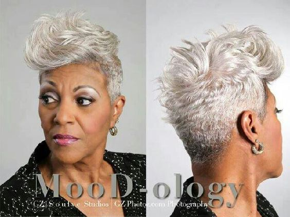 Gray Natural Hair Styles: Short Cuts, Bobs And Weaves And Other