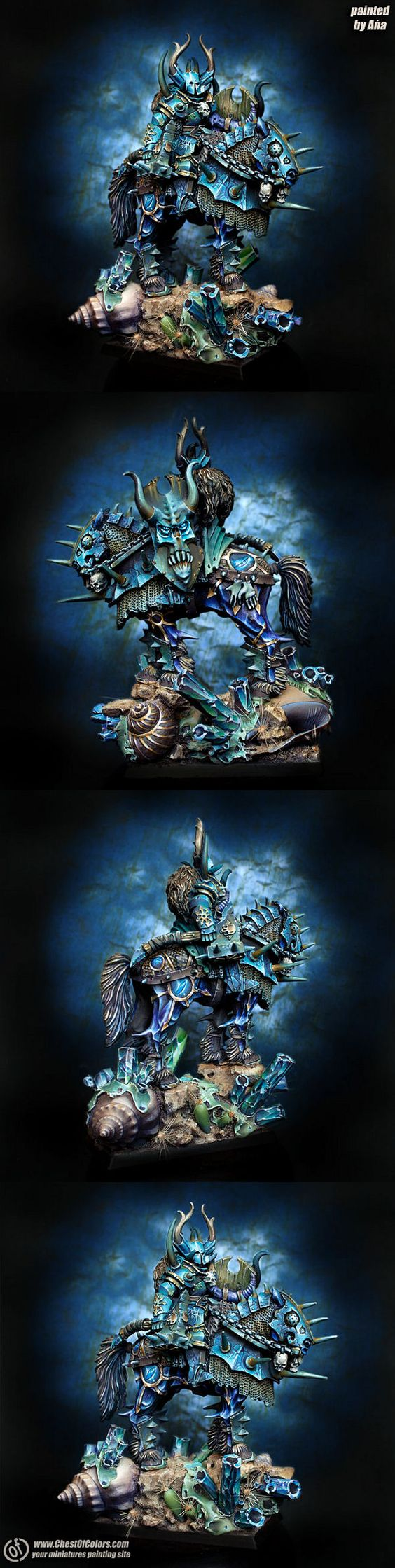 Chaos Lord of Tzeentch on a Chaos Steed