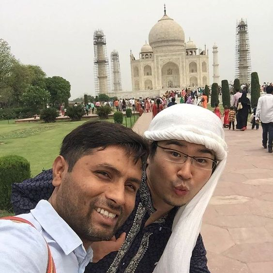 by @ranjansama #mytajmemory #IncredibleIndia #tajmahal Tajmahal #インド #きれい #ランジャンジャーニー #アグラ #travel #tajmahal #beautiful