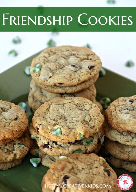Friendship cookie recipes