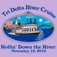 ~Cruisin' in the moonlight!!~ River Cruise for Delta Delta Delta!