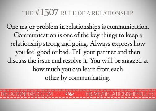 the most important thing in a relationship communication styles