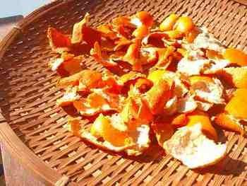 天日干しオレンジピール