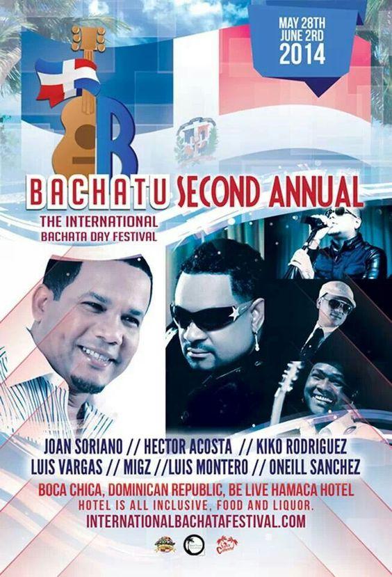 Bachatu Festival 5/29 - 6/02/ 2014