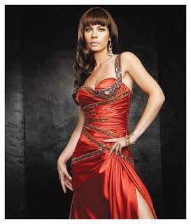 Vestidos catorceveinte.com: Vestido de noche, largo al piso,correa un solo hombro, silueta línea A y cintura de tipo imperio