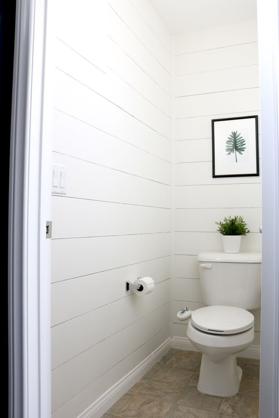 Bathroom Quick Makeover a quick master bathroom makeover with a moody blue paint color and